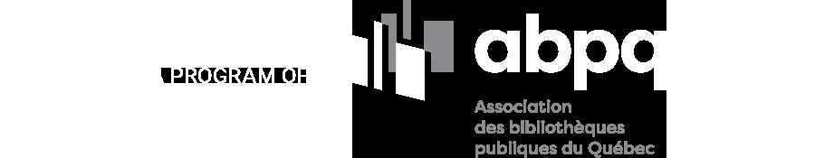 A program of l'Association des bibliothèques publiques du Québec
